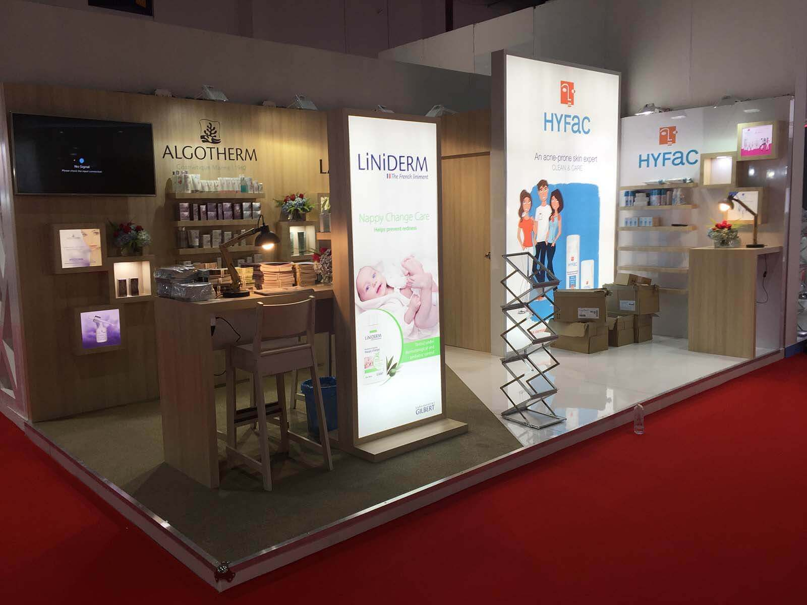 Exhibition Stand Builders France : Algotherm france u maple exhibition organizing