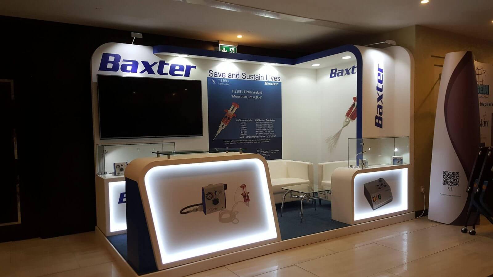Maple Expo Execute Exhibition Stand For Baxter, Dubai