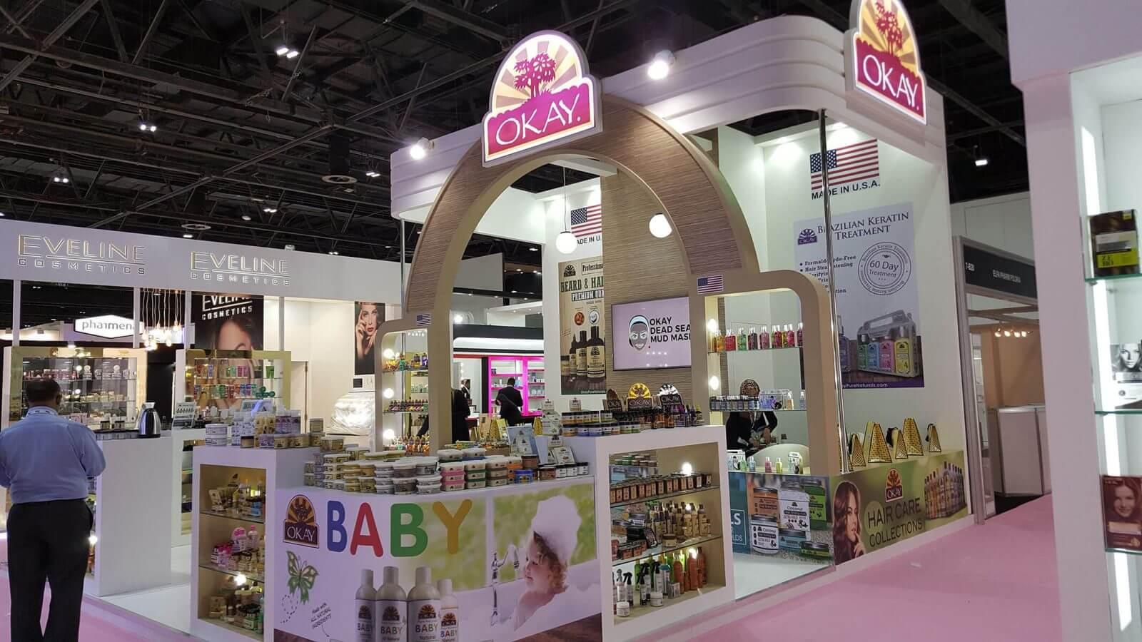 Maple Expo Execute Exhibition Stand Beauty World 2017, Dubai