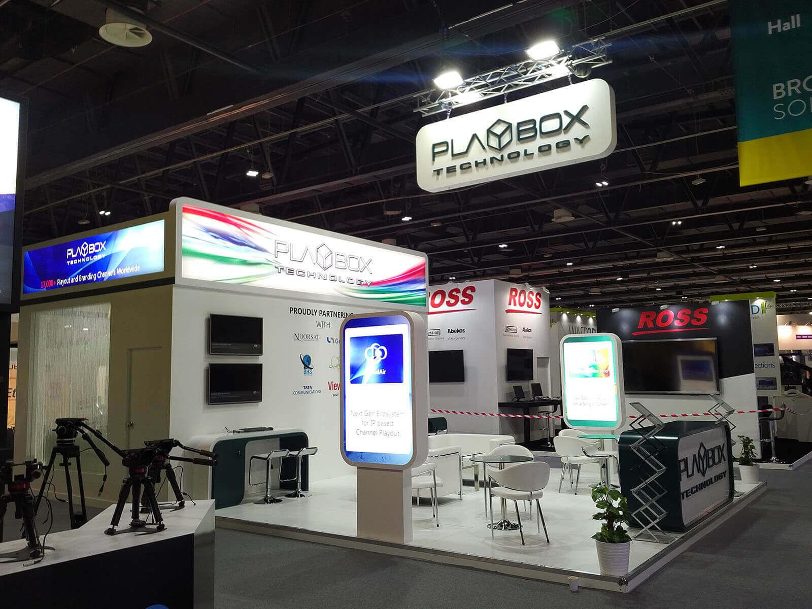 D Printing Dubai Exhibition : Cabsat exhibition dubai stand designs