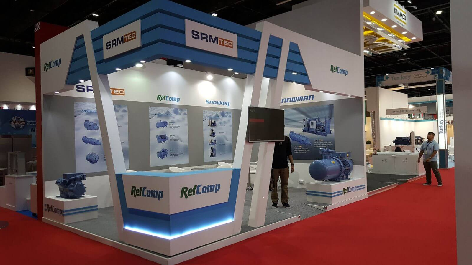 Maple Expo Execute Exhibition Stand In Big 5 Expo 2017, Dubai
