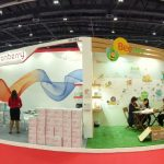 Exhibition stand graphics printing
